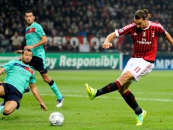 Milan-Barcellona vince la serata