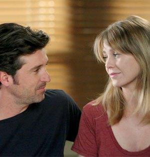 Meredith Grey e Derek Sheperd Grey's Anatomy foto