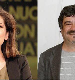 Virginia Raffaele e Francesco Pannofino concerto Primo Maggio