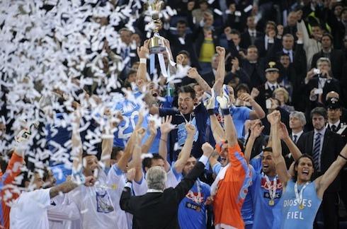 Boom di ascolti per la vittoria del Napoli