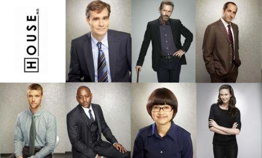 foto serie tv dr. house 8