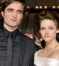 Gli attori Robert Pattinson e Kristen Stewart