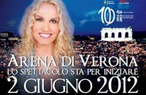 Arena di Verona 2012-Lo spettacolo sta per inziare vince la serata
