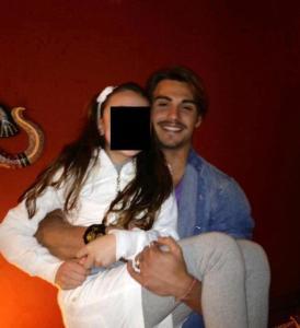 Francesco Monte e Teresanna Pugliese felici in famiglia