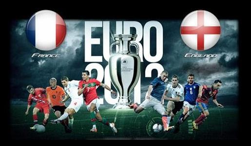 Foto Francia - Inghilterra Euro 2012