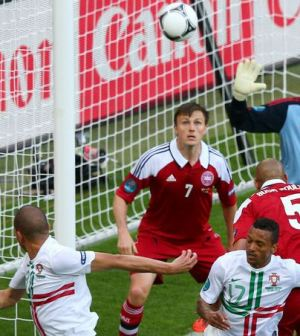Foto di Pepe gol del Portogallo