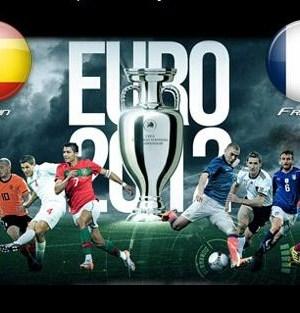 Foto di Spagna - Francia Euro 2012