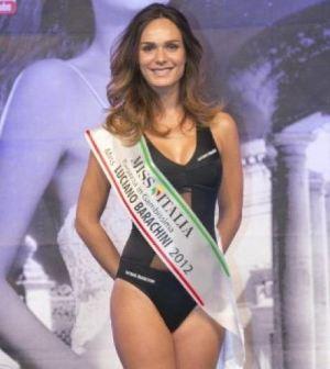Foto di Diletta Innocenti Fagni a Miss Italia 2012