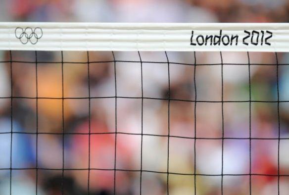 Foto rete pallavolo quarto di finale Italia alle Olimpiadi Londra 2012