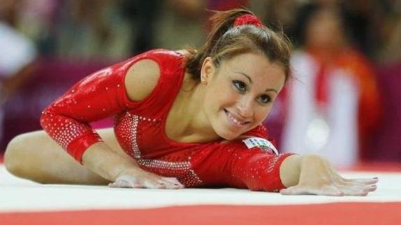 Foto di Vanessa Ferrari in finale alle Olimpiadi Londra 2012