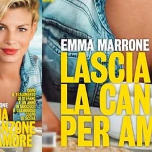 emma marrone abbandona la musica intervista copertina diva e donna