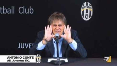 Crozza imita Conte, allenatore della Juve: in arrivo Italialand
