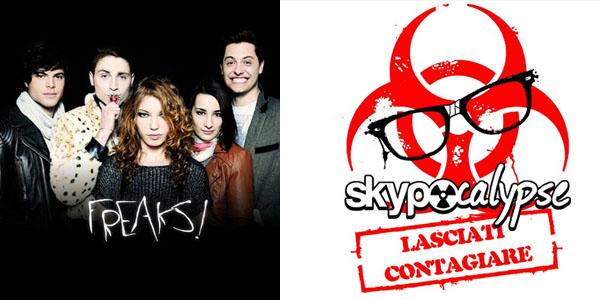 freaks the series skypocalypse web serie digitale terrestre italia due deejay tv