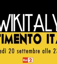 wikitaly censimento italiano enrico bertolino giovedì rai due seconda serata logo