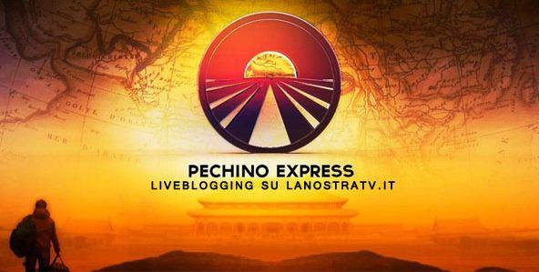pechino express diretta logo