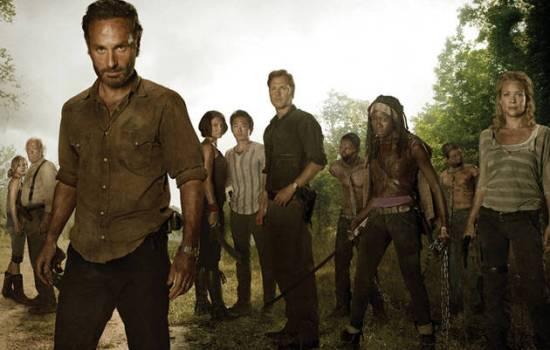 foto cast the walking dead 3
