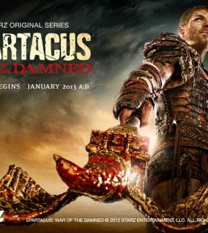 foto serie tv spartacus la guerra dei dannati