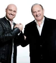 Gerry Scotti e Rudy Zerbi