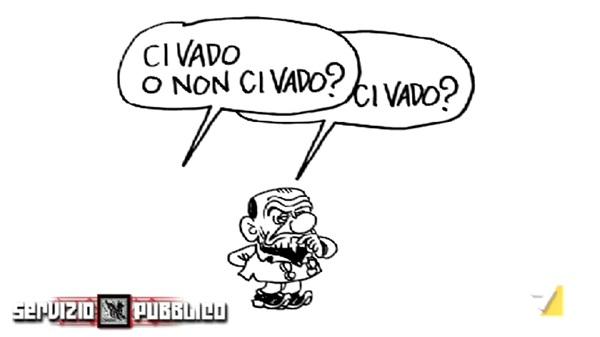 Berlusconi ospite di Servizio Pubblico
