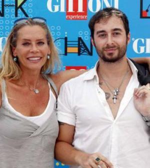 Foto Barbara De Rossi e Anthony Manfredonia al tempo della loro relazione