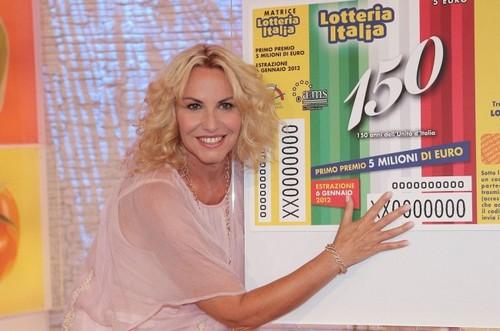 Antonella Clerici La prova del cuoco Lotteria Italia