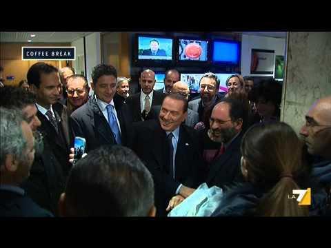 Silvio Berlusconi a La7 con Ingroia