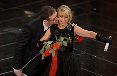 Fabio Fazio e Luciana Littizzetto Sanremo