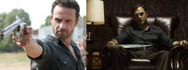 foto the walking dead 3 rick e il governatore