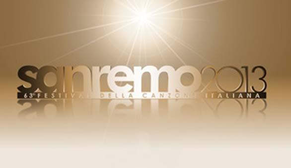 Il logo di Sanremo 2013