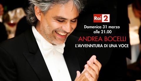 Andrea Bocelli - L'avventura di una voce su Rai2