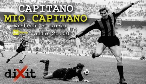 Capitano mio capitano: puntata di Dixit sport dedicata a Totti e Facchetti