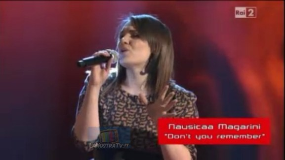 Foto di Nausicaa Magarini The Voice of italy