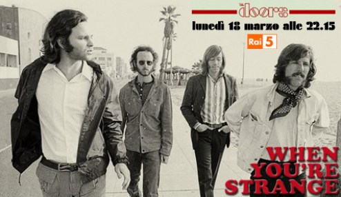 The Doors: When you' re strange, film-documentario su Rai5