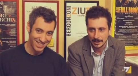 """Su La7 Luca e Paolo in """"Non contate su di noi"""""""