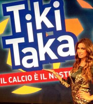 Melissa Satta a Tiki Taka