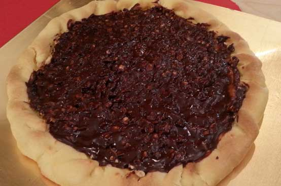 Torta cioccoricotta
