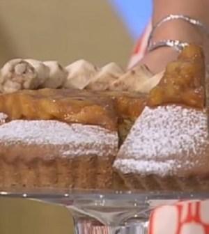 foto torta con banane