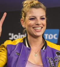 foto emma marrone smile