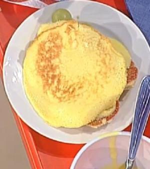 La prova del cuoco: pancake alla crema e frutta