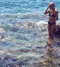 elodie al mare