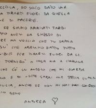 foto lettera Giulia