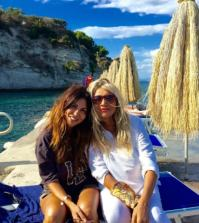 Mara Venier e Sabrina Ferilli