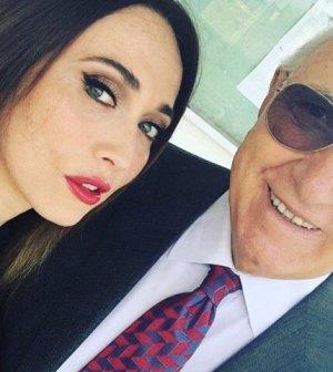 Pippo Baudo Domenica In: domanda imbarazzante a Chiara Francini