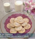 foto biscotti deliziosi alle nocciole