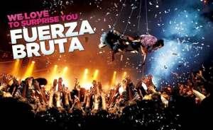 Irrompe per la prima volta in Italia: FUERZA BRUTA @  Teatro Linear Ciak | Milano | Lombardia | Italia