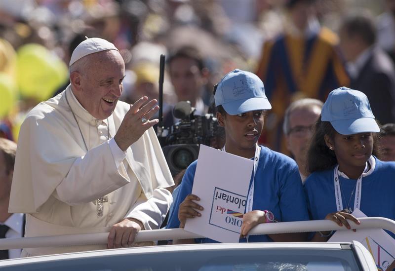 El Papa pidió rezar por el pueblo brasileño en este momento triste