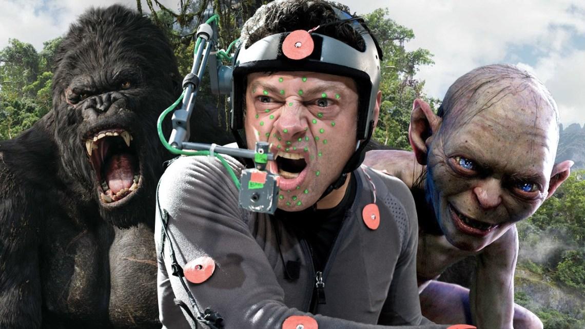 Andy Serkis, actor que interpreta a varios personajes CGI. Imagen tomada de za.ign.com