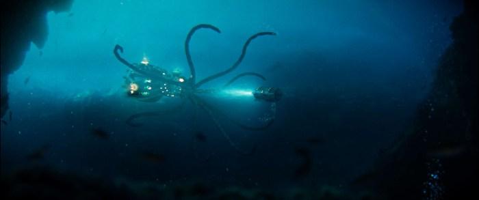 Frame de la secuencia submarina de la película 'Zipi y Zape y la isla del Capitán'.