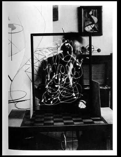 'Space Writing' obra de Man Ray.