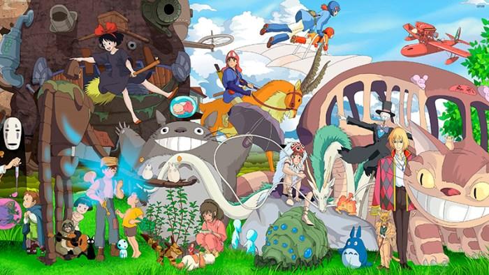 Personajes de Studio Ghibli. Fuente: Pinterest